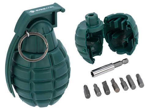 Evike.com Pineapple Grenade Screwdriver Bit Tool Set