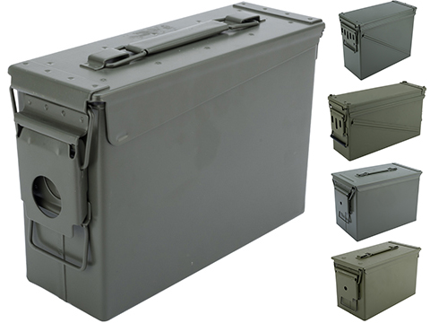 Brand New Metal Ammo Container