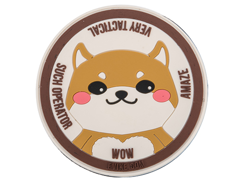 Evike.com The Circle of Doge PVC Morale Patch
