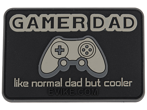 Evike.com Gamer Dad PVC Morale Patch