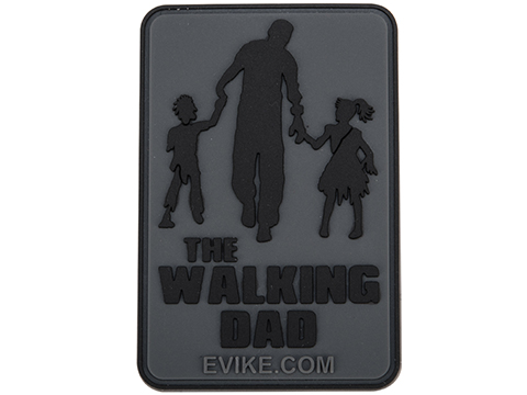 Evike.com The Walking Dad PVC Morale Patch