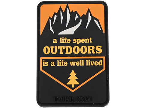 Evike.com Outdoors PVC Morale Patch
