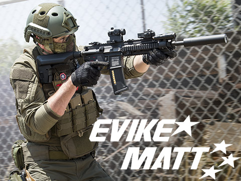 Evike.com Signature Series Matt's Green MilSim Loadout Tactical Gear Package
