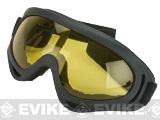 Element HERO Airsoft UV Hi-Flow Extreme Sports Tactical Airsoft Goggles (Color: Yellow)