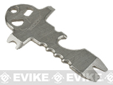 Element Stainless Steel Pocket Skull Keychain Multitool - Silver