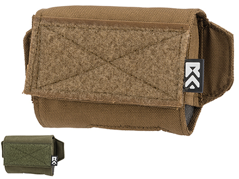 ExFog Helmet Pouch 1.0 for Goggle Anti-Fog Fan Kits (Color: Tan)