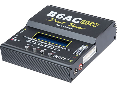 6mmProShop 6AC 80W Computer Battery Balancer Charger