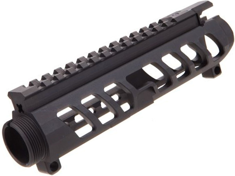 F-1 Firearms UDR-15 3G Style 2 Stripped Billet Upper Receiver for AR15 Rifles (Color: Black)