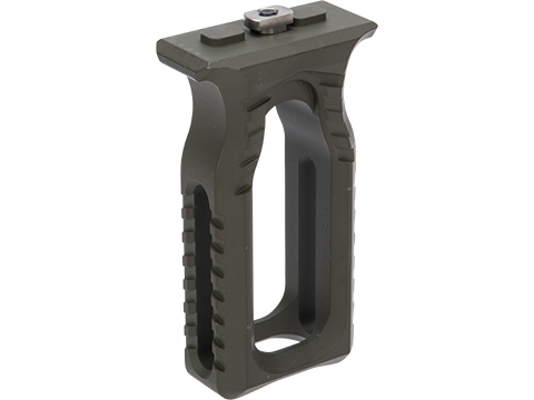 F-1 Firearms Skeletonized Vertical Grip (Color: OD Green / M-LOK)