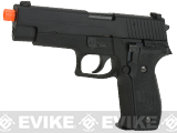 WE USA NG3 F226 Standard Airsoft Gas Blowback GBB Pistol - Black