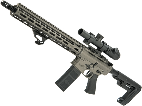 EMG Falkor AR-15 RECCE 2.0 eSilverEdge Training Weapon M4 Airsoft AEG Rifle (Color: Falkor Grey / 400 FPS)