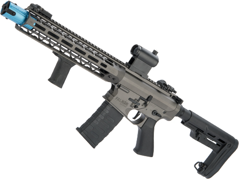 EMG Falkor AR-15 Blitz SBR Training Weapon M4 Airsoft AEG Rifle (Color: Falkor Grey)