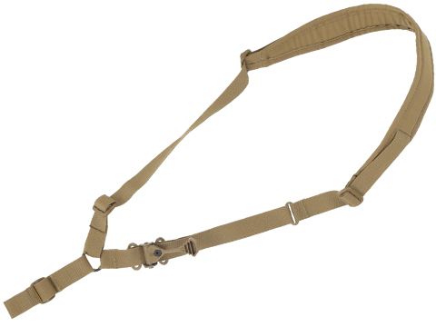 Ferro Concepts The Single Point Slingster Rifle Sling (Color: Coyote Brown / No Hardware)