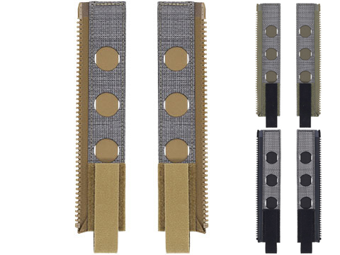 Ferro Concepts ADAPT BACK PANEL MOLLE ZIPPER KIT for Plate Carriers
