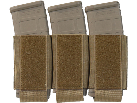 Ferro Concepts Turnover Triple 556 Magazine Pouch (Color: Coyote Brown)