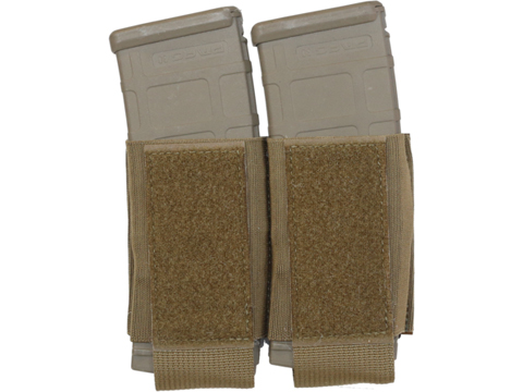 Ferro Concepts Turnover Double 556 Magazine Pouch (Color: Coyote Brown)