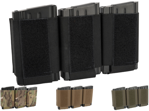 Ferro Concepts Turnover Triple 762 Magazine Pouch (Color: Black)