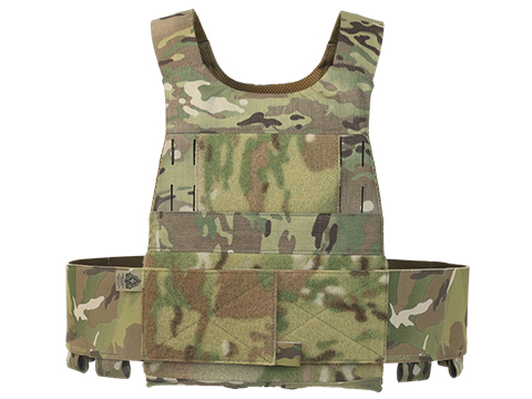 Ferro Concepts Slickster MOLLE Ready Plate Pocket (Size: Medium / Multicam)
