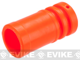 Orange ABS Flashhider for Airsoft AEG Rifles - 14mm CCW