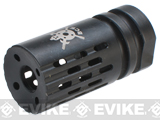 PTS Battle Comp 2.0 SCV Black Oxide Airsoft Flash Hider (Thread: 14mm Negative)