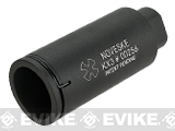 EMG Helios Noveske KX3 Non-Adjustable Sound Amplifying Flashhider- Black / CCW