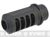 SHS Tank Carbine Aluminum Airsoft Muzzle Brake / Flash Hider - 14mm Negative