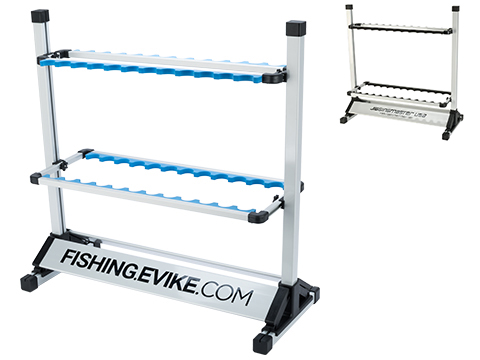 Promo Retail Display Grade 24 Fishing Pole Rack Rod Holder