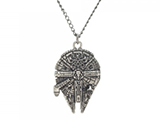 Star Wars Millennium Falcon Metal Chain Necklace