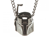 Star Wars Boba Fett 3D Metal Chain Necklace
