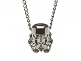 Star Wars Storm Trooper 3D Metal Chain Necklace