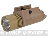 Matrix Tactical M3 Illuminator Combat Light w/ 120 Lumen Xenon Lamp - Dark Earth