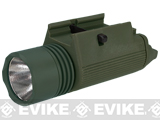 Matrix Tactical M3 Illuminator Combat Light w/ 120 Lumen Xenon Lamp - OD Green
