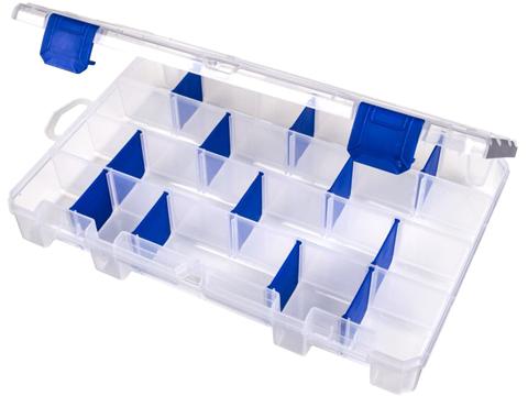 Flambeau Tuff Tainer� Fishing Tackle / Organizer Box (Model: 4 - 4007 / Divided)