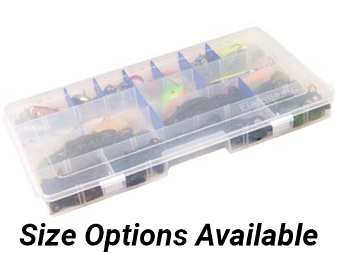 Flambeau Tuff Tainer� Fishing Tackle / Organizer Box (Model: 3 - 6004R / Extended Divided)