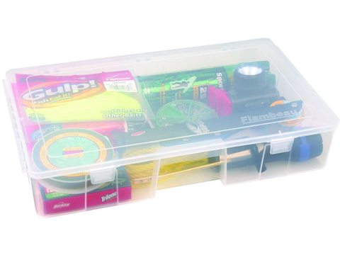 Flambeau Tuff Tainer� Fishing Tackle / Organizer Box (Model: 7000R / Double Deep Bult Core)