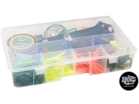Flambeau Tuff Tainer� Fishing Tackle / Organizer Box (Model: 3 - 7003R / Double Deep Divided)