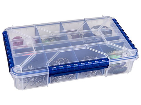 Flambeau Ultimate Tuff Tainer� Fishing Tackle / Organizer Box (Model: WP5012 / Double Deep Divided)