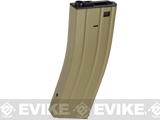"Matrix Full Metal 360 round ""Flash Mag"" for M4 M16 Series Airsoft AEG - Tan"