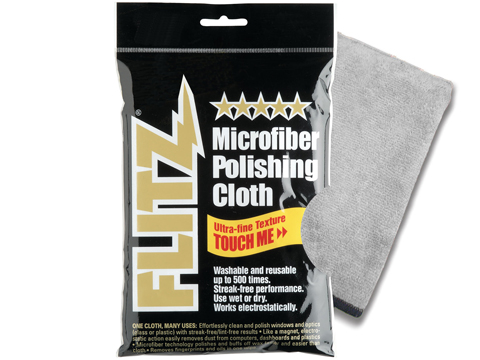 Flitz Premium Microfiber Polishing Cloth