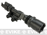 Avengers Airsoft Tactical CREE LED Scout XL Weapon Light w/ Pressure Pad - Black