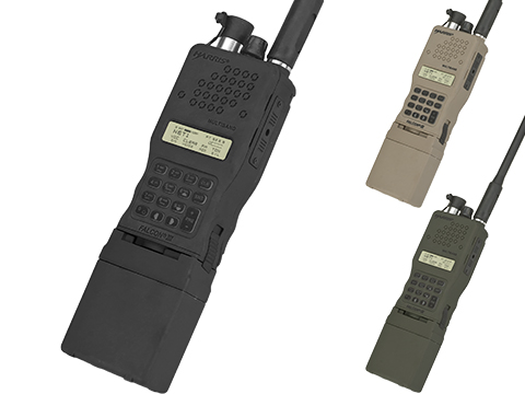 FMA High-Grade Dummy PRC-152 Radio with Detachable Antenna (Color: Black)