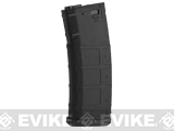 S&T 350rd Polymer Flash Magazine for M4 A&K Masada Series Airsoft AEG - Black