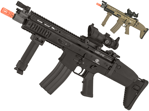 FN Herstal Licensed Full Metal SCAR CQB Airsoft AEG Rifle by G&G