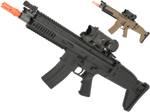 FN Herstal Licensed SCAR-L Airsoft AEG Rifle by Cybergun