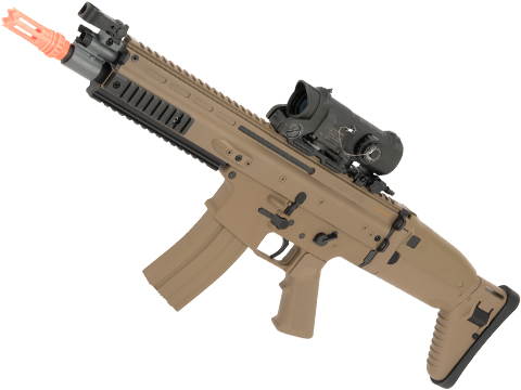 FN Herstal Licensed SCAR-L Airsoft AEG Rifle by Cybergun (Color: Desert)