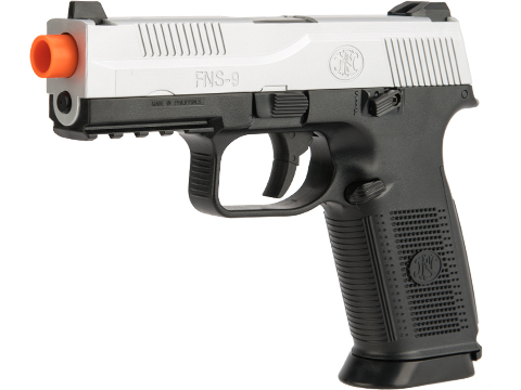 FN Herstal FNS-9 Airsoft Spring Pistol by CyberGun (Color: Two-Tone)