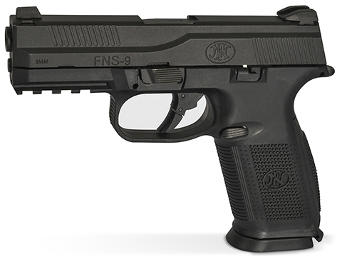 FN Herstal FNS-9 Gas Blowback Airsoft Pistol by Cybergun (Color: Black)