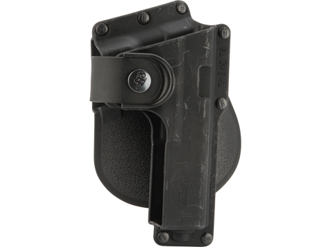 Fobus Tactical Duty Holster w/ Active Retention (Model: GLOCK 19, 23, 32 w/ Light or Laser / Paddle)