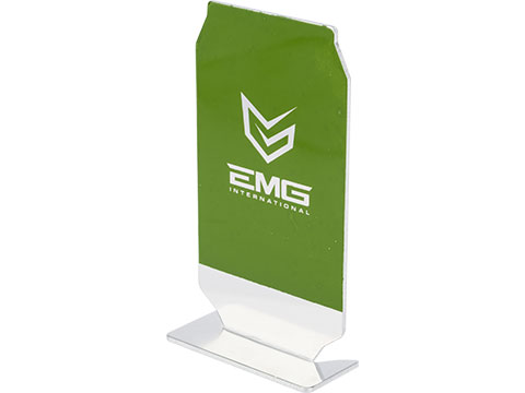 Evike.com ePopper Practical Shooting Popper Targets (Package: EMG Logo x1 / Green)