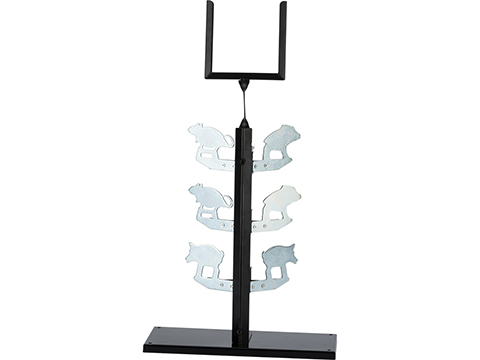 Big Bang Steel Target for Airguns (Model: Animal Dueling Tree)